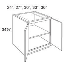 Base Cabinet Full Height 2 Doors