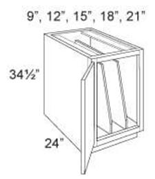 Base Cabinet Full Height Tray Base