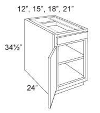 Base Cabinet Standard 1 Door