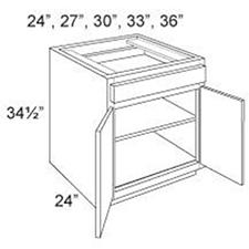 Base Cabinet Standard 2 Doors