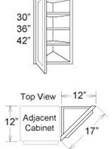 Cabinet Upper Special Corner
