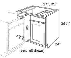 Base Corner Blind Left