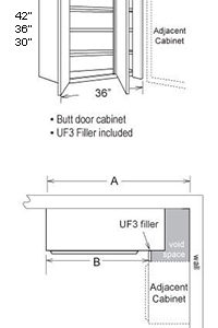 Upper Blind Cabinet 2 Door