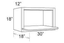 Cabinet Upper Microwave